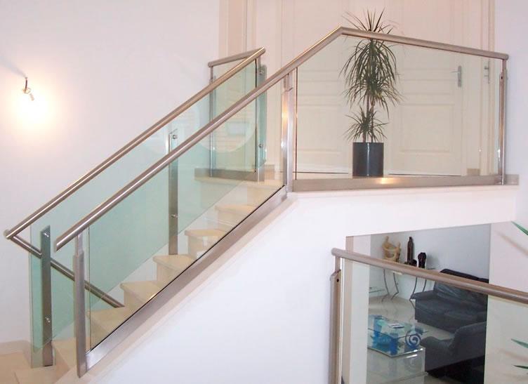 Moliglass - Pasamanos de cristal para escaleras ...