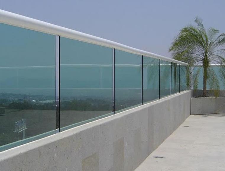 Moliglass for Barandas de terrazas modernas
