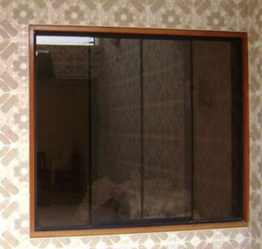 Moliglass for Ventanas de aluminio color bronce